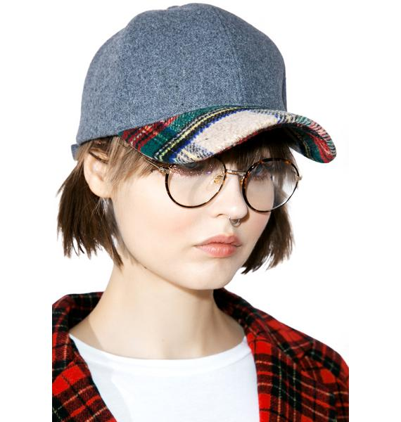 Daybreak Plaid Dad Hat