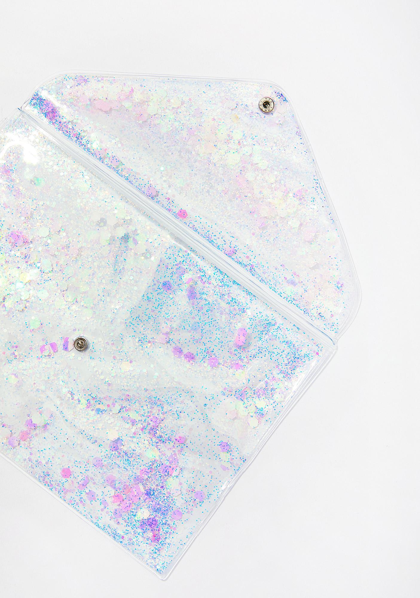 Skinnydip Sparkle Clutch