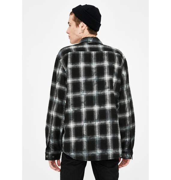 Disturbia Trent Plaid Flannel Shirt