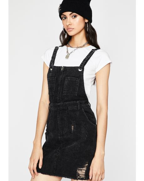 Sin Let Me Show You Denim Dress
