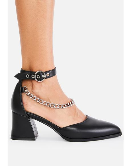 Classy N' Sassy Chain Heels