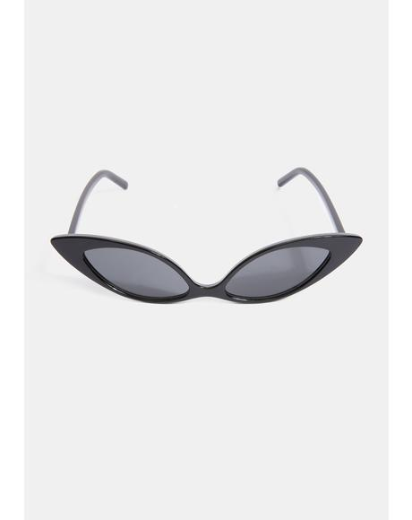 Sassy but Sweet Cat Eye Sunglasses