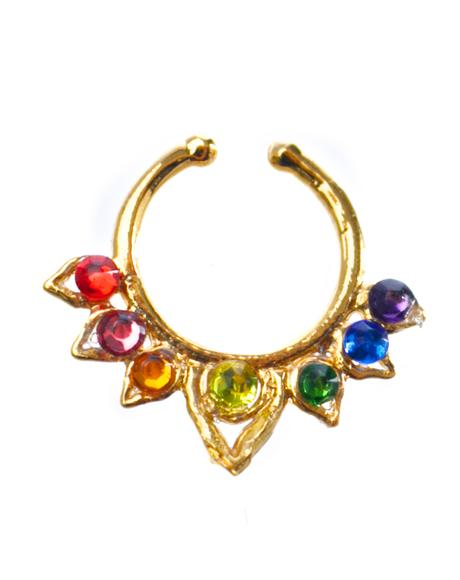 Rainbow Dream Aurora Septum Clip