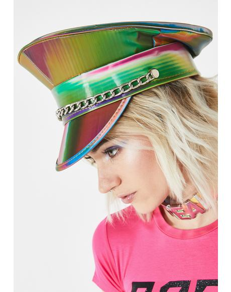 Prismatic Army Captain Hat