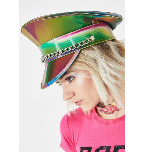 Prismatic Army Captain Hat