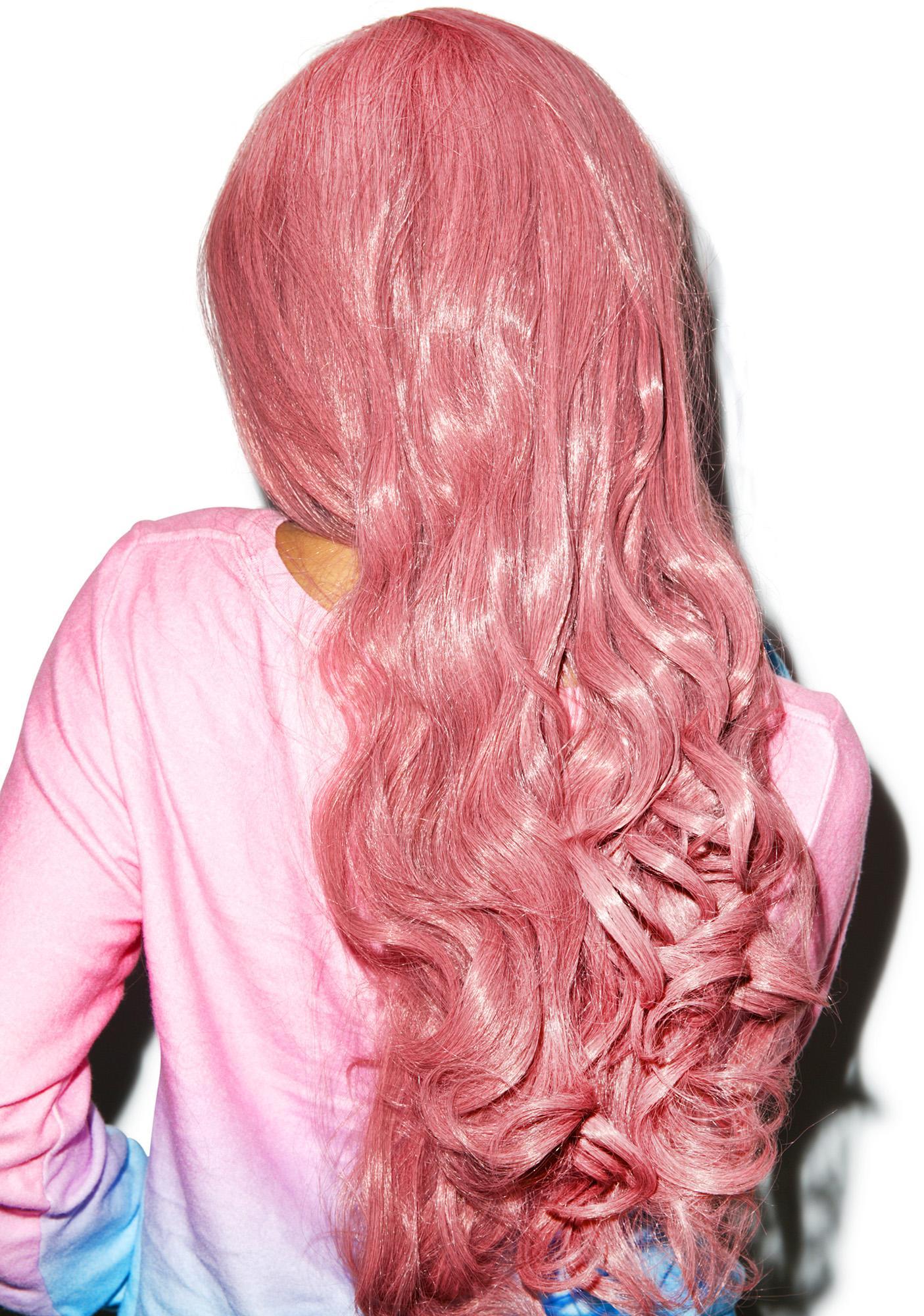 Tickle Me Pink Wig