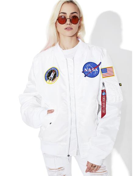 Icy L-2B NASA Flight Jacket