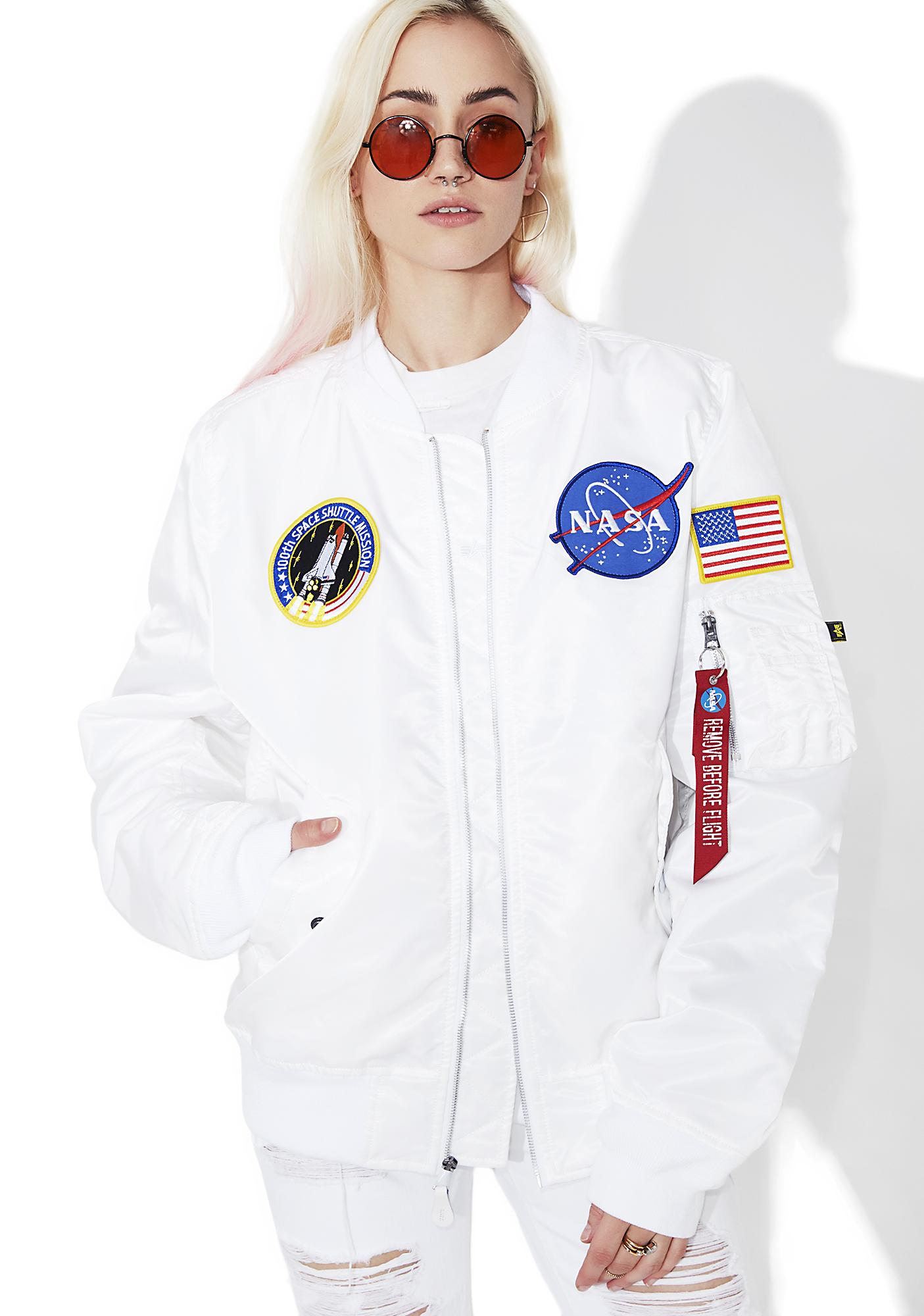 Alpha Industries Icy L-2B NASA Flight Jacket