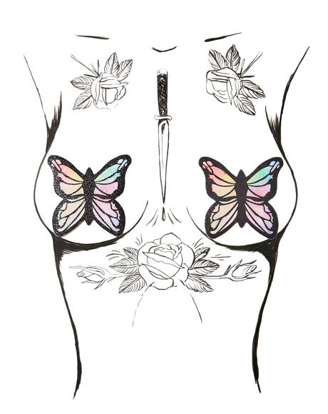Monarch Butterfly Pasties