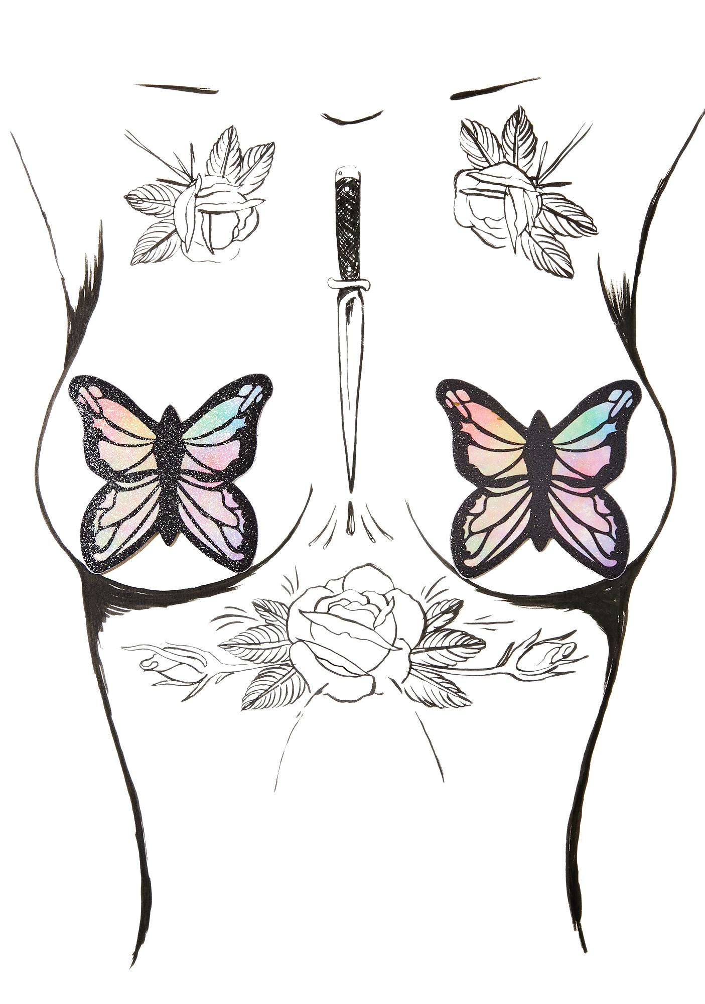 Pastease Monarch Butterfly Pasties