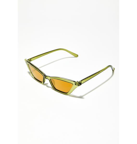 Dirty Martini Cat Eye Sunglasses
