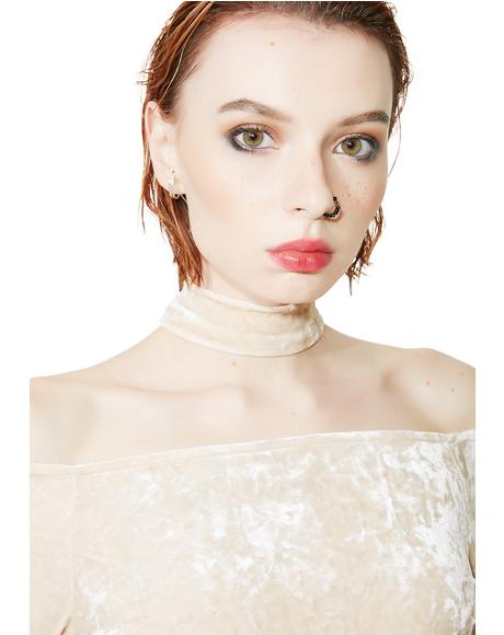 Guiltless Choker Top