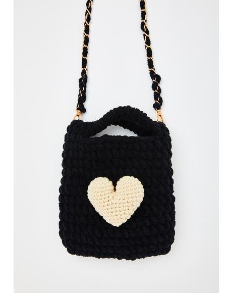 Stitches Of Love Crossbody Bag