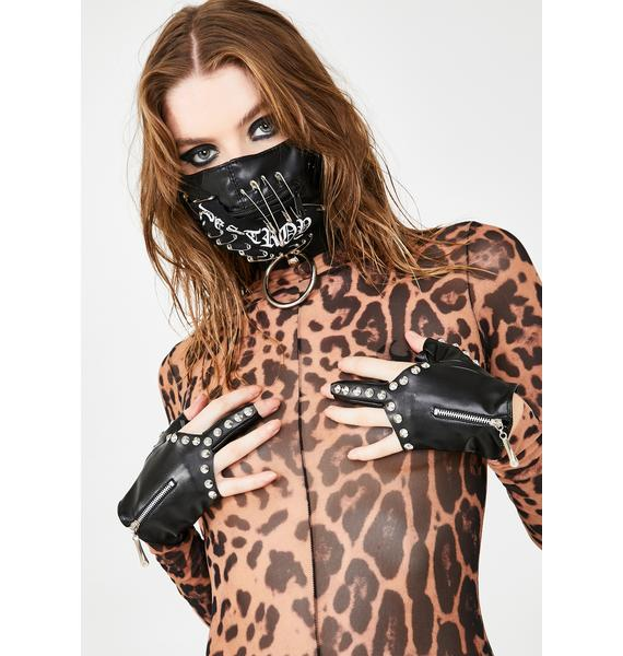 Freak Ur Burn Studded Gloves