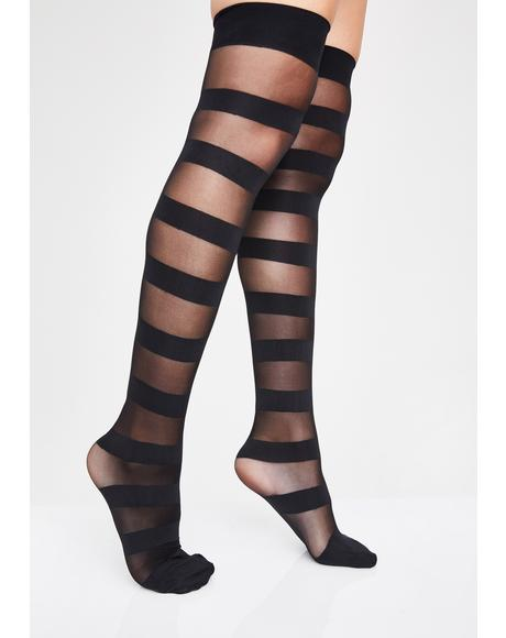 6fdef4a15c7c2 Women's Socks & Tights - Knee High, Ankle High, Thigh High | Dolls Kill