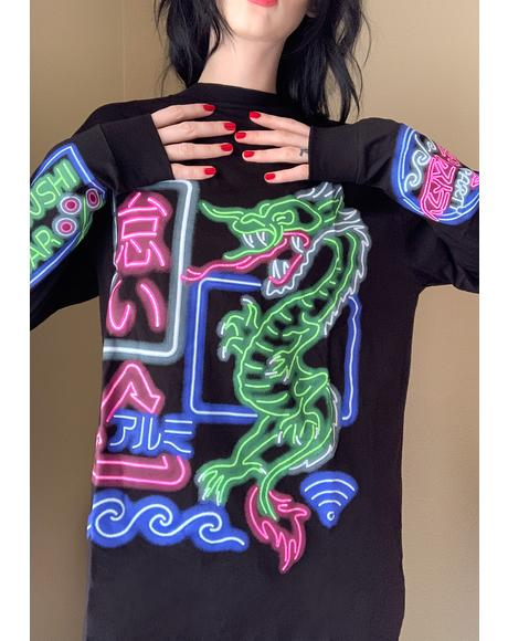 Neon City Graphic Tee