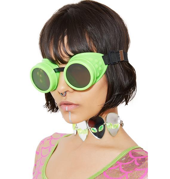 Greetings Earthlings Goggles