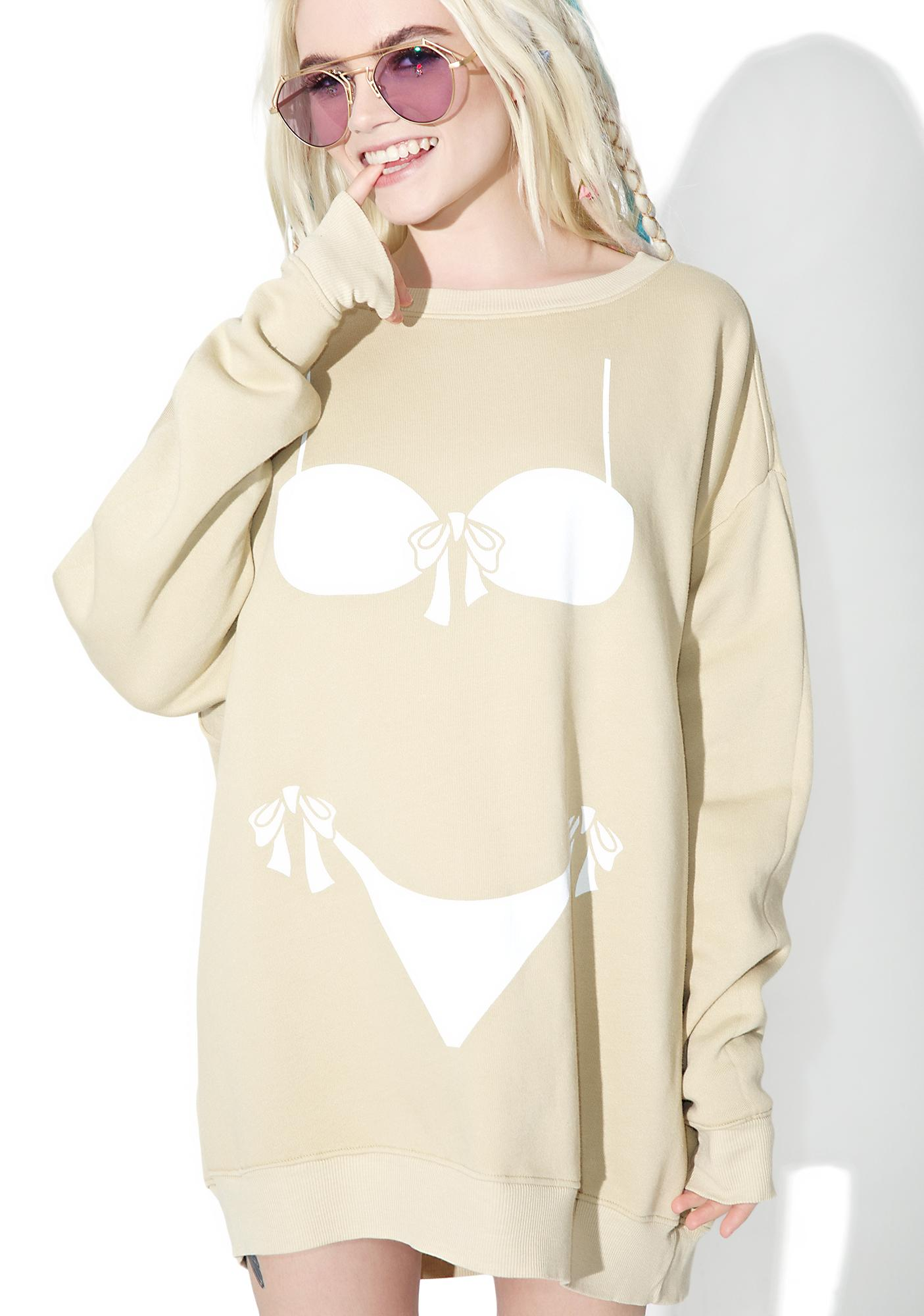 Wildfox Couture Bikini Bod Roadtrip Sweater