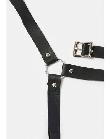 Strappy Criss Cross Wrap Harness