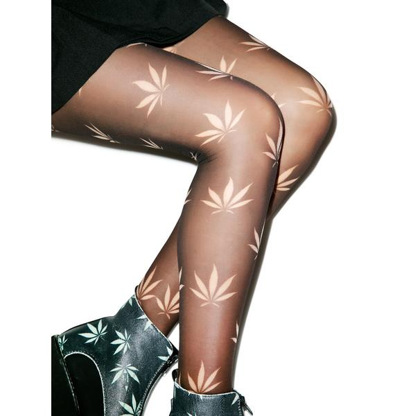 Puff Puff Tights