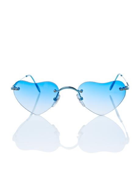 Blue Lolita Sunglasses