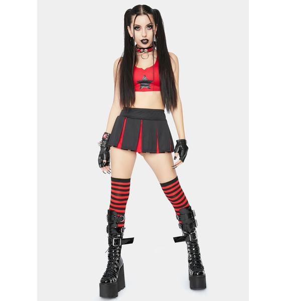Dolls Kill Deadly Derby Costume Set