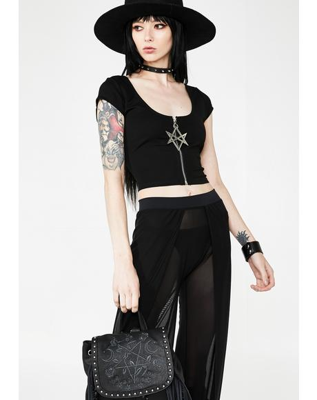 Sacred Sixx Crop Top