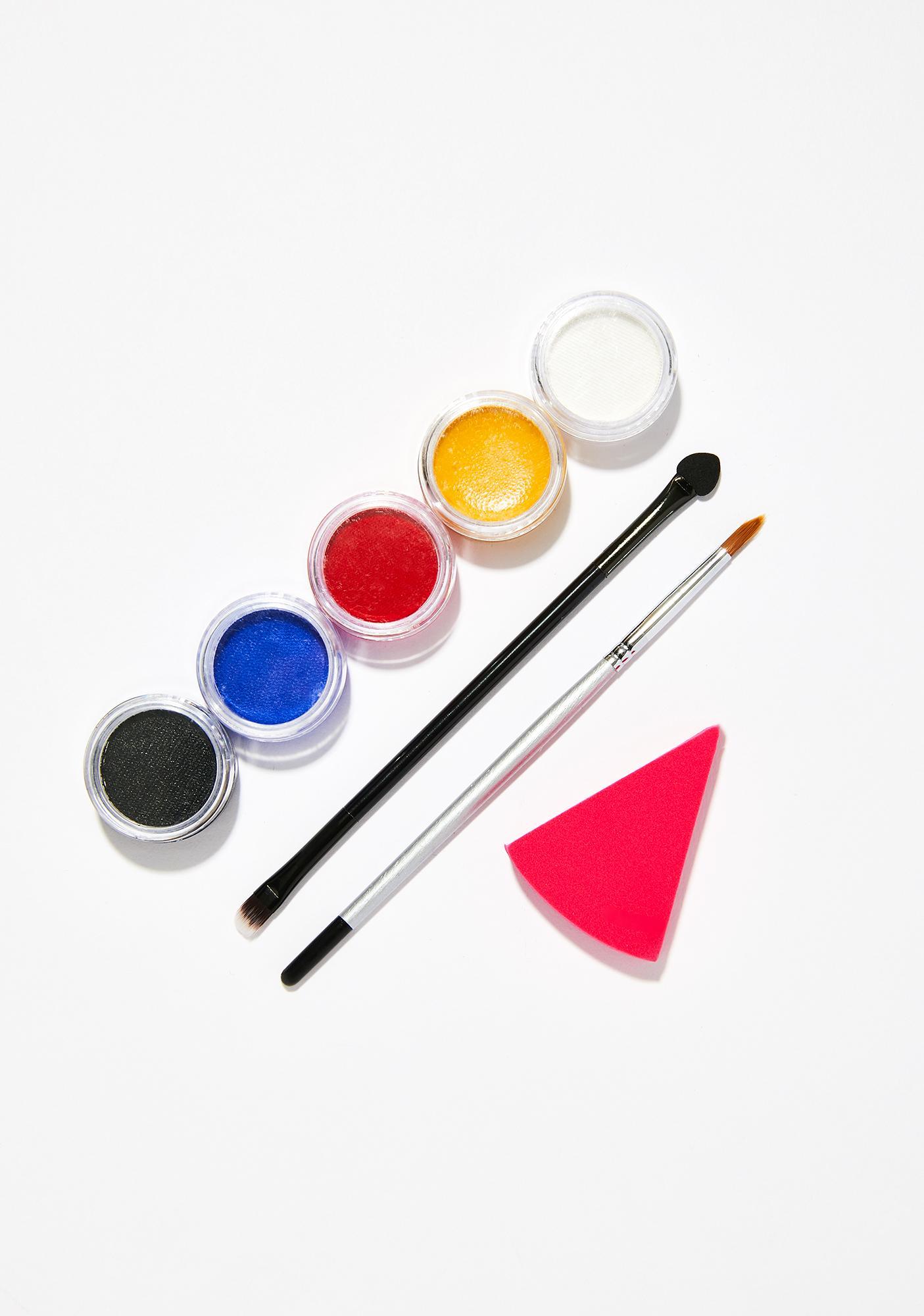Rainbow Skull Makeup Kit