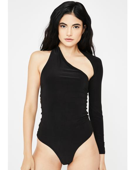 Quinny One-Sleeve Bodysuit