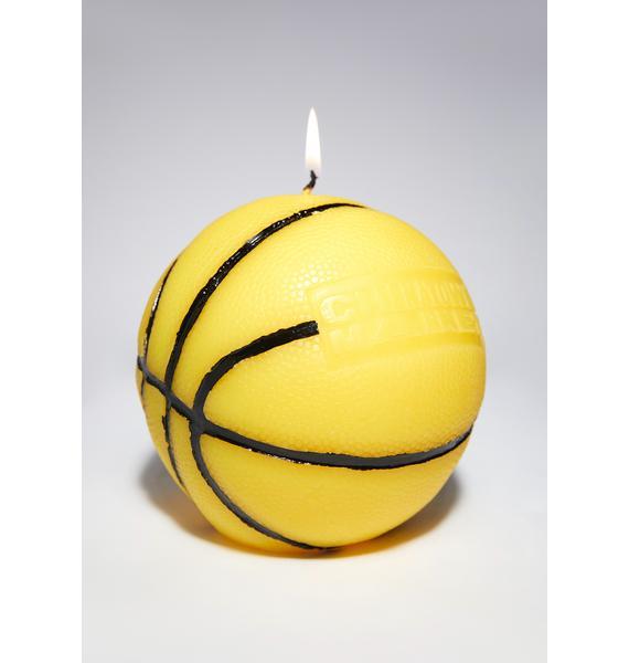 CHINATOWN MARKET Smiley Mini Basketball Candle