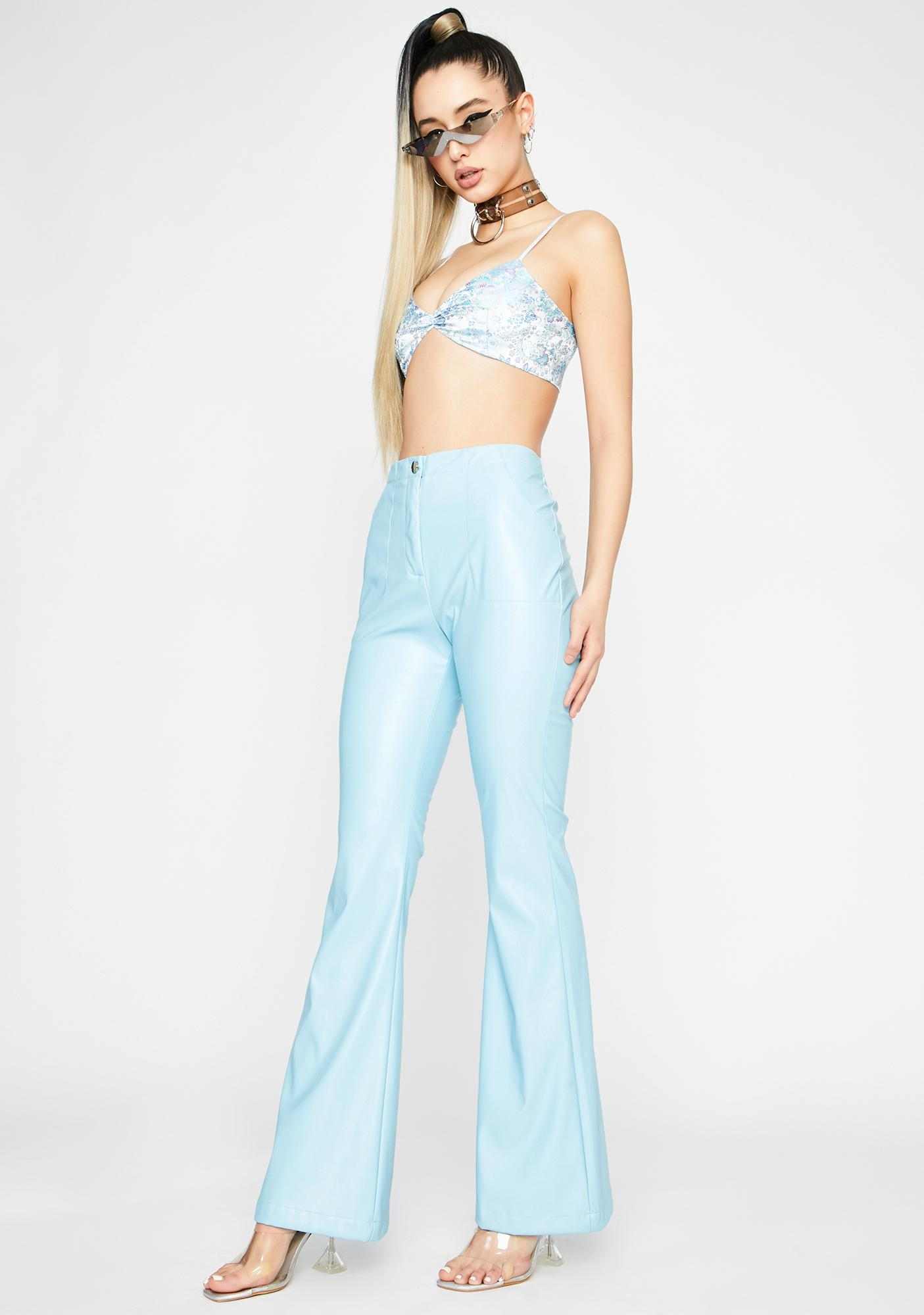 Berry Dreamer District Flare Pants