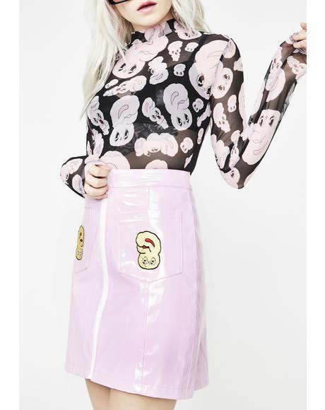 Vinyl Bunny Skirt