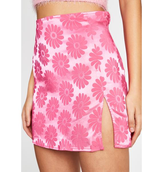 Baby Triggered Tulips Mini Skirt