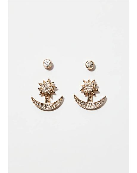 Starry Eyed Earring Set