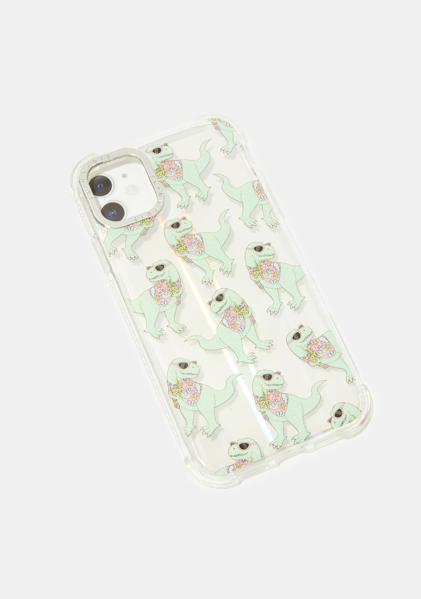 Skinnydip Dino iPhone Case