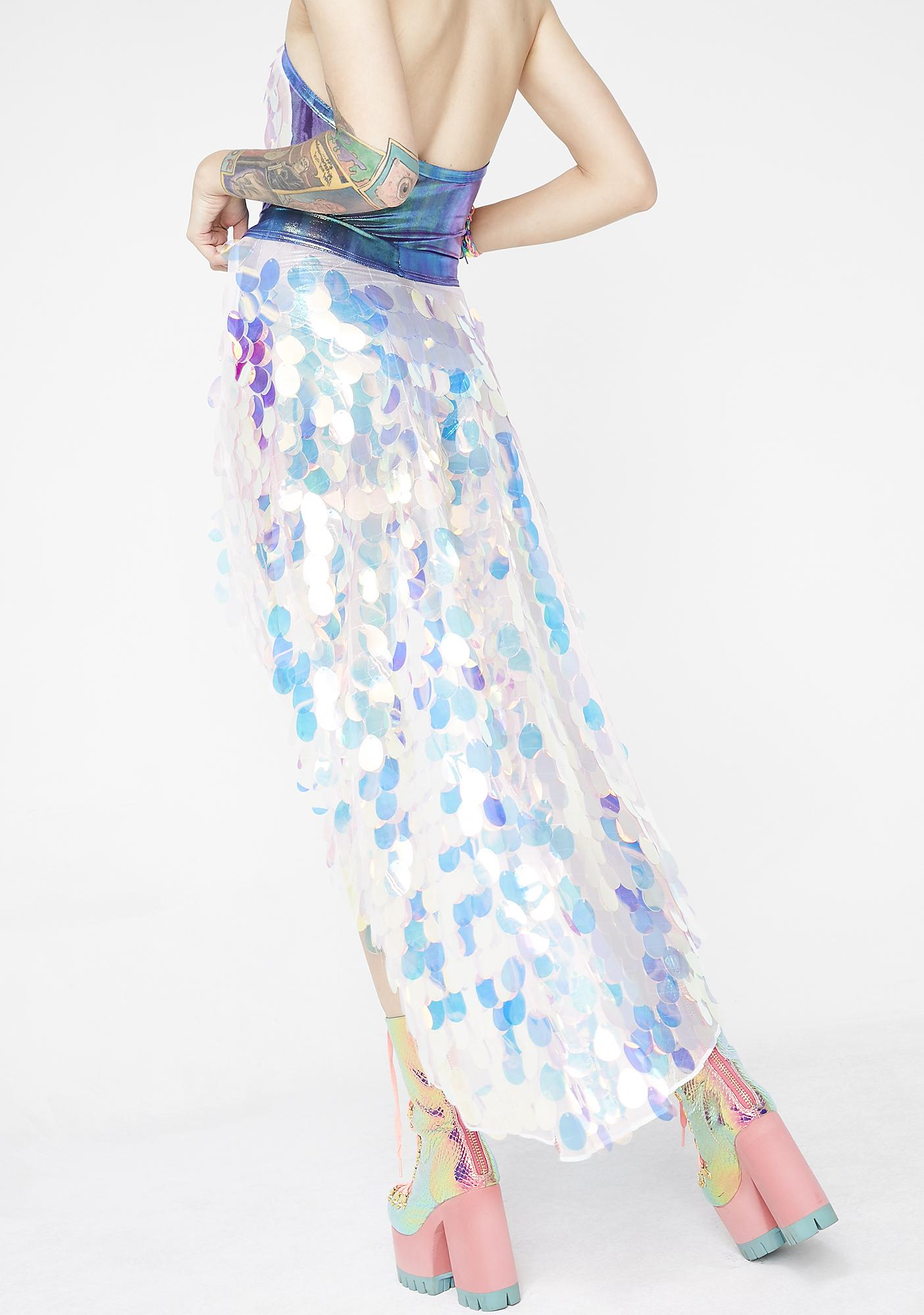 Rolita Rave Couture Fantasy Skirt