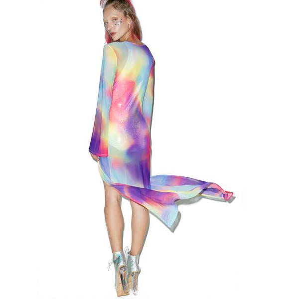 Jaded London All In One Rainbow Kimono