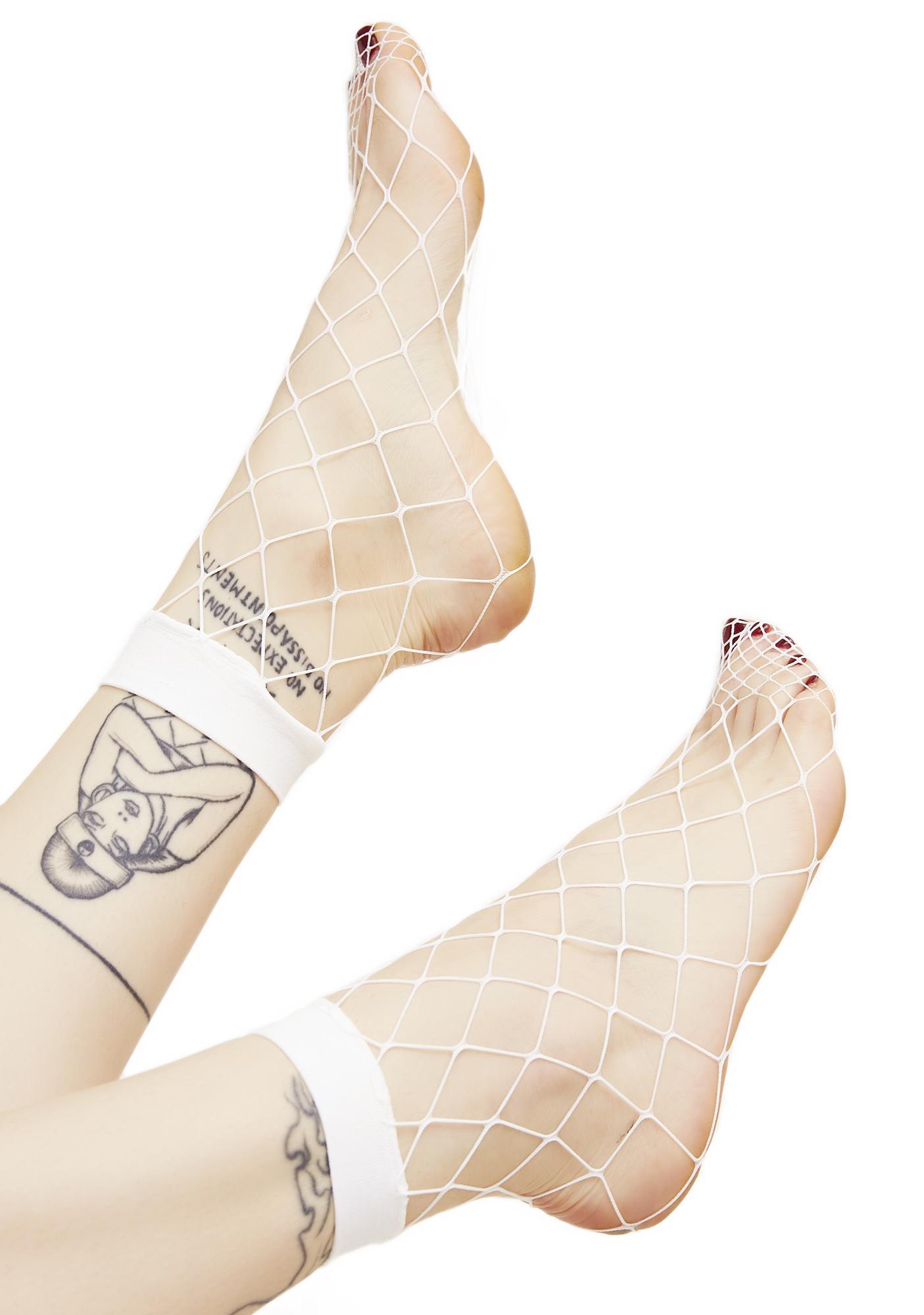 Ruckus Fishnet Socks