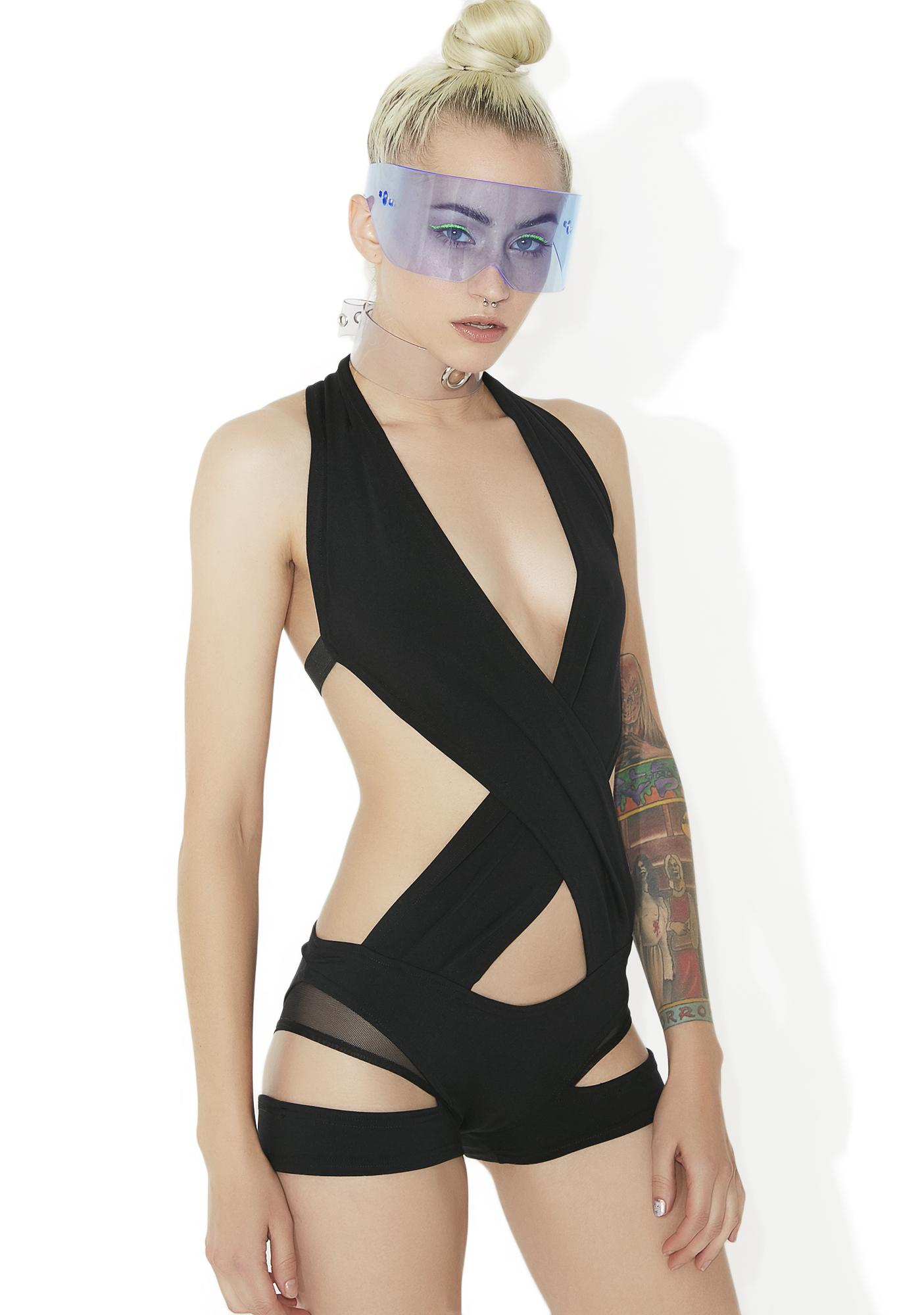 Cyberdog Wrapper Playsuit
