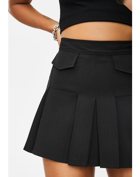 Hot For Teacher Pleated Skirt