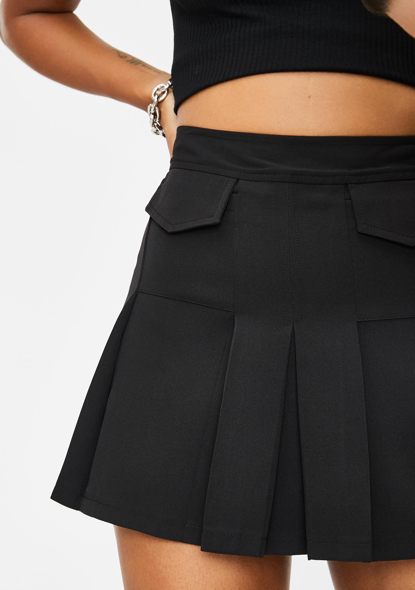 Hot For Teacher Pleated Skirt by Current Mood