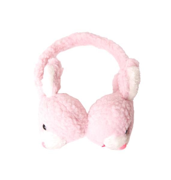 Don't Worry, Be Hoppy Plush Earmuffs