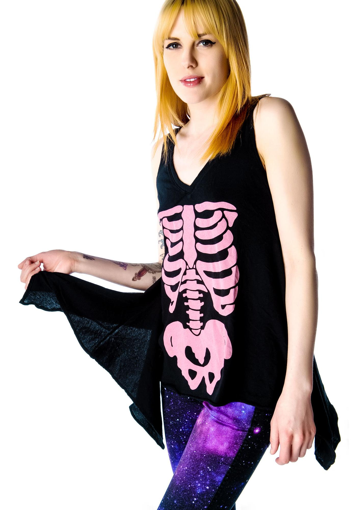 Wildfox Couture Barbie's Insides Dreamer Tank