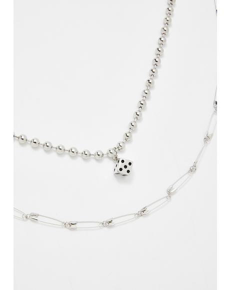 Lil Trickster Safety Pin Choker