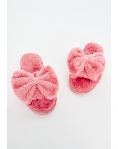 Me Time Plush Slippers