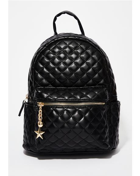 New Places Quilted Backpack