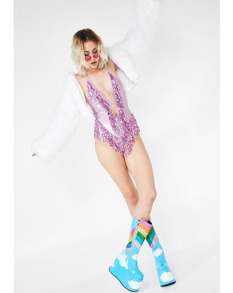 Starchaser Sequin Bodysuit