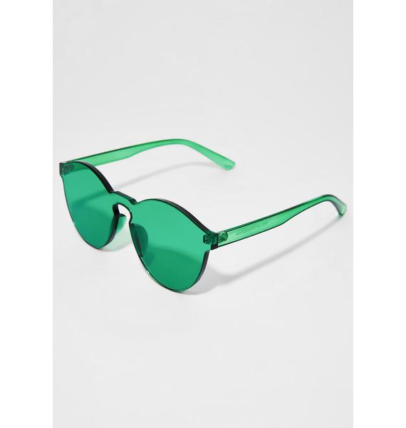 Seein' Green Sunglasses