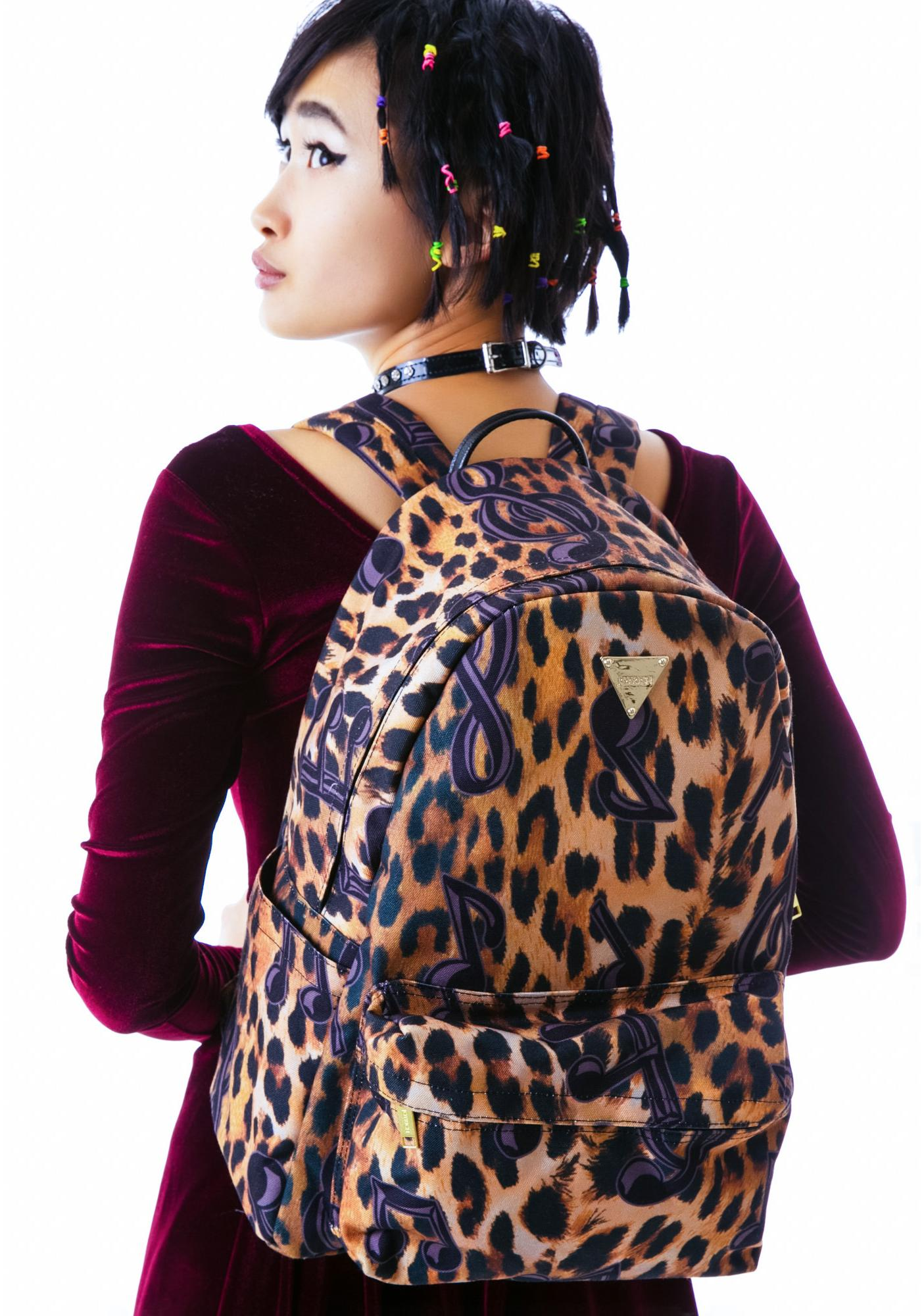 Joyrich Tune Leopard Backpack