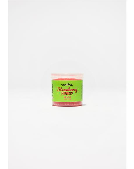 Strawberry Pink Bunny Lip Scrub